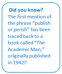 Did you know_publish or perish_0